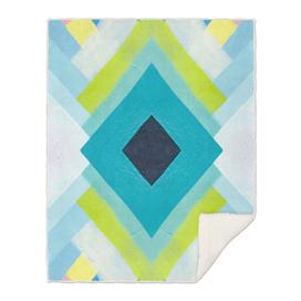 geometric color paint