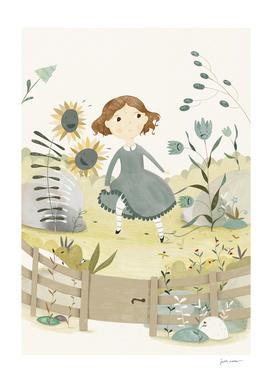 The Snow Queen - The Flower Garden
