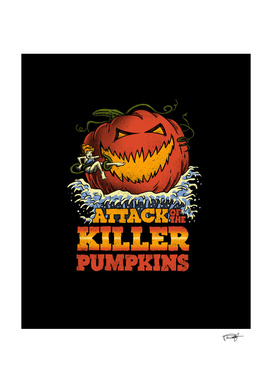 Attack of the Killer Pumpkin