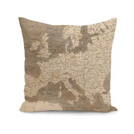 Vintage Map of Europe (1804)