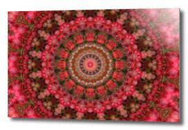 Red Foliage Mandala