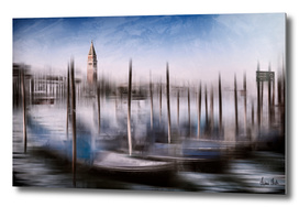 City-Art VENICE Grand Canal and St Mark's Campanile