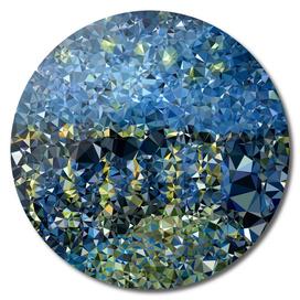 Starry Night Rhone Geometric Triangles