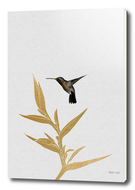 Hummingbird & Flower II