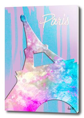 Graphic Style PARIS Eiffel Tower | pink