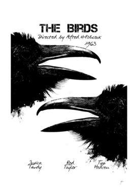 The Birds by Alfred Hitchcock