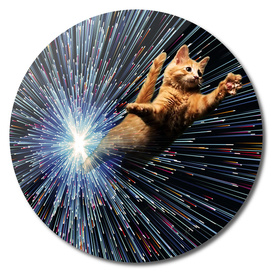 Cat Space vortex in galaxy attack speed of light