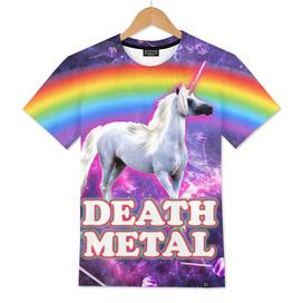 death metal unicorn space candy sweet rainbow