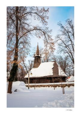 Winter Wonderland at the Village Museum in Bucharest