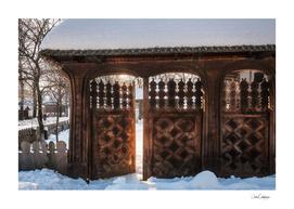 Enter the gate into the winter season!
