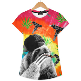 sloth gangsta gangster Dope Weed