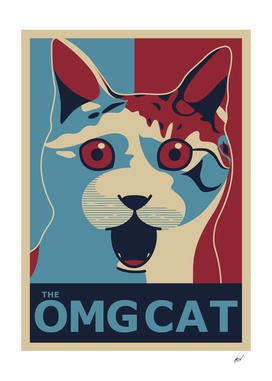 Maicon MCN - The OMG Cat - Ob Poster