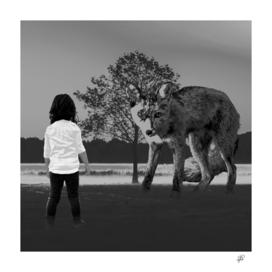 Encounter (Black & White)