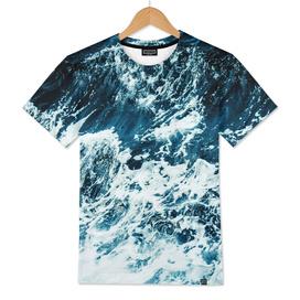 Disobedience - ocean waves painting texture