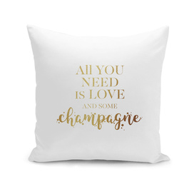 All you need is love and some champagne