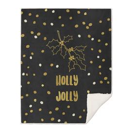 Holly Jolly Gold
