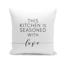 Kitchen seasoned with love