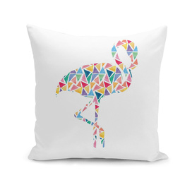 Geometric Abstract Colorful Animal