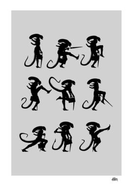 Ministry of Silly Alien Walks