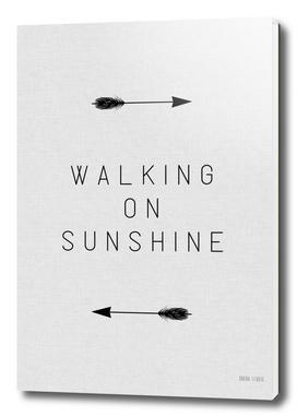 Walking on Sunshine Arrow