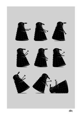 Ministry of Dalek Silly Walks