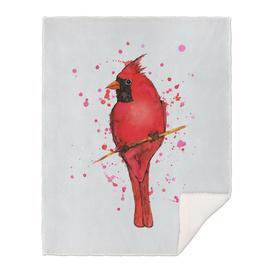 Northern cardinal Watercolor