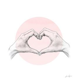 hearten hand // hand study
