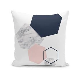 Hexagon marble geometry