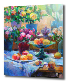 Still Life in Front of the Window