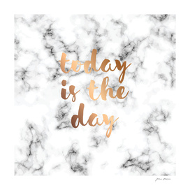 Today Is The Day Marble 046