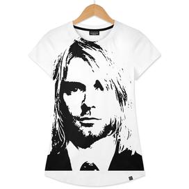 Kurt Cobain Stencil