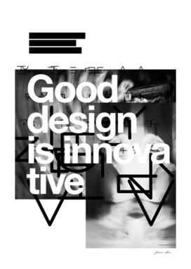 Good design is innovative