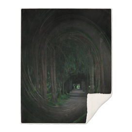 way in tunnel