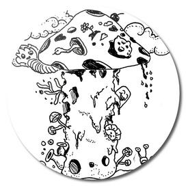 Sketch 58 - Mushroom Doodle
