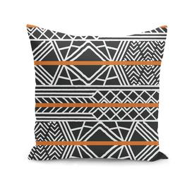 Tribal ethnic geometric pattern 022