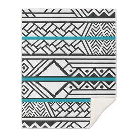 Tribal ethnic geometric pattern 032