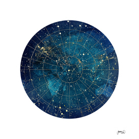 Star Map :: City Lights