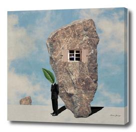 inside stone