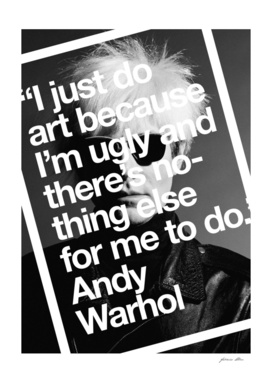 And Warhol Quote Art