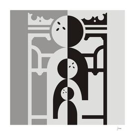 Art nouveau figures and buildings 2.