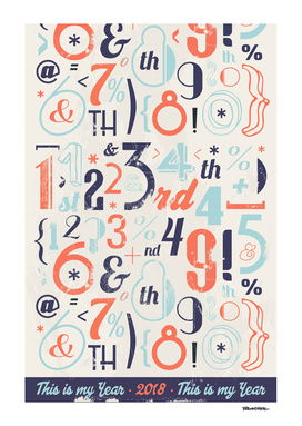 Numbers Retro 2018 - Notebooks & more