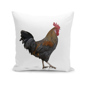 Polygonal Rooster chicken