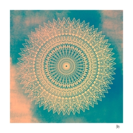 GOLDEN SUN MANDALA