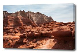 Unusual Rock Formations at Kodachrome Park, Utah
