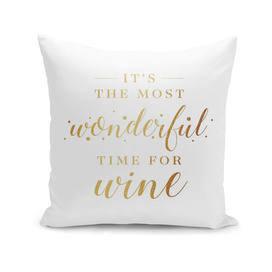 Wonderful time for wine