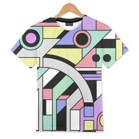 De Stijl Abstract Geometric Artwork