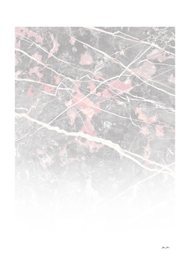 Pink & Grey Marble - Ombre