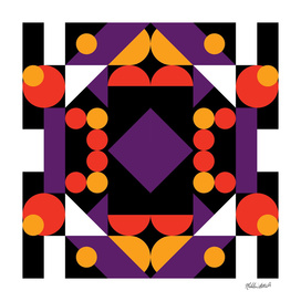 Graphic Kaleidoscope Design 42