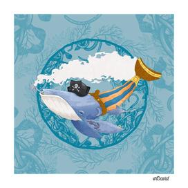 Pirate Whale