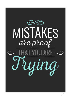 Quote Poster - 29 - Mistakes